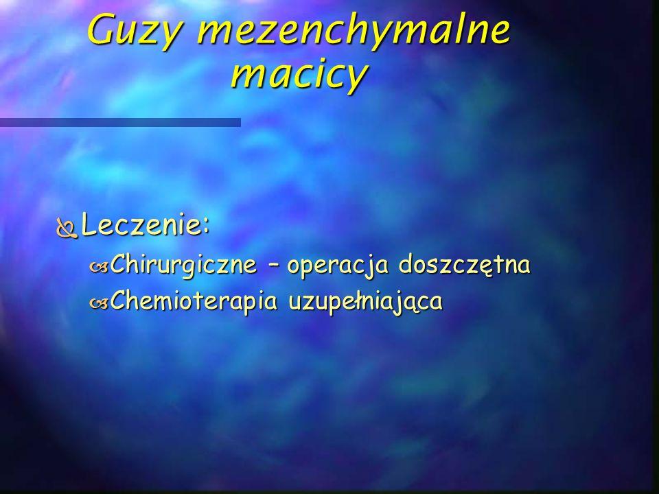 Guzy mezenchymalne macicy