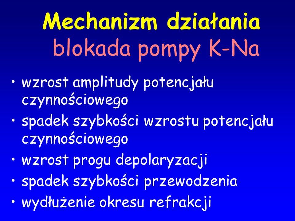 Mechanizm działania blokada pompy K-Na