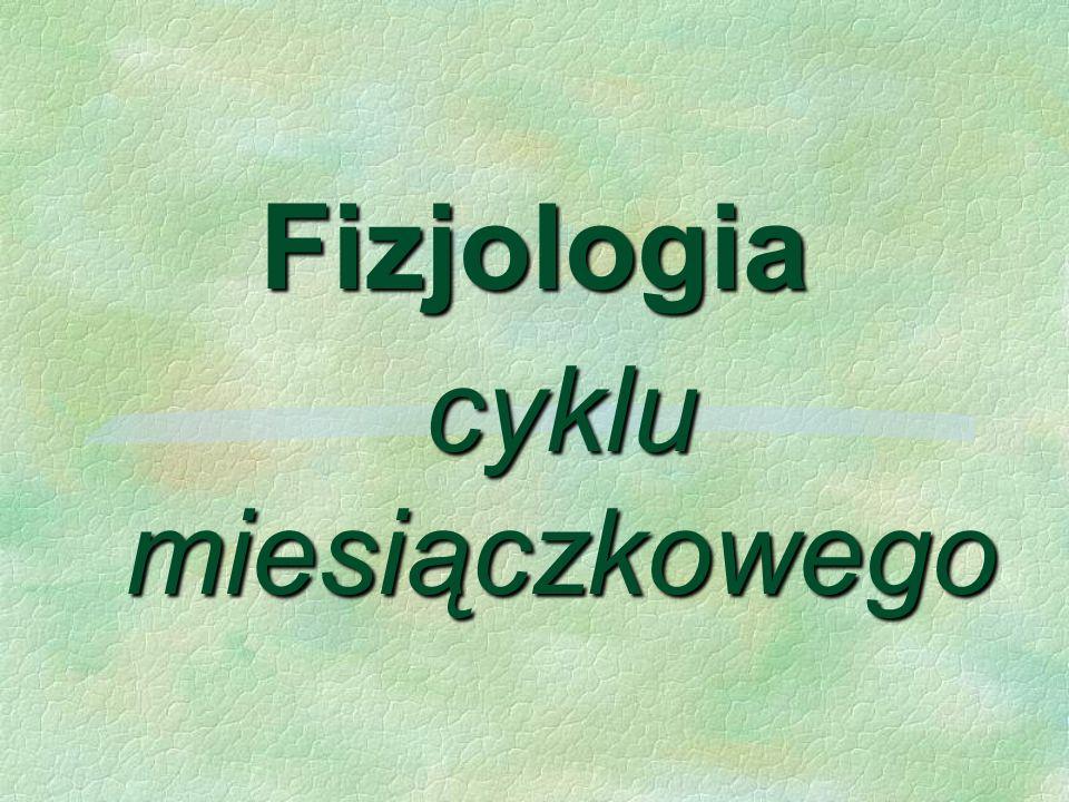Fizjologia cyklu miesiączkowego