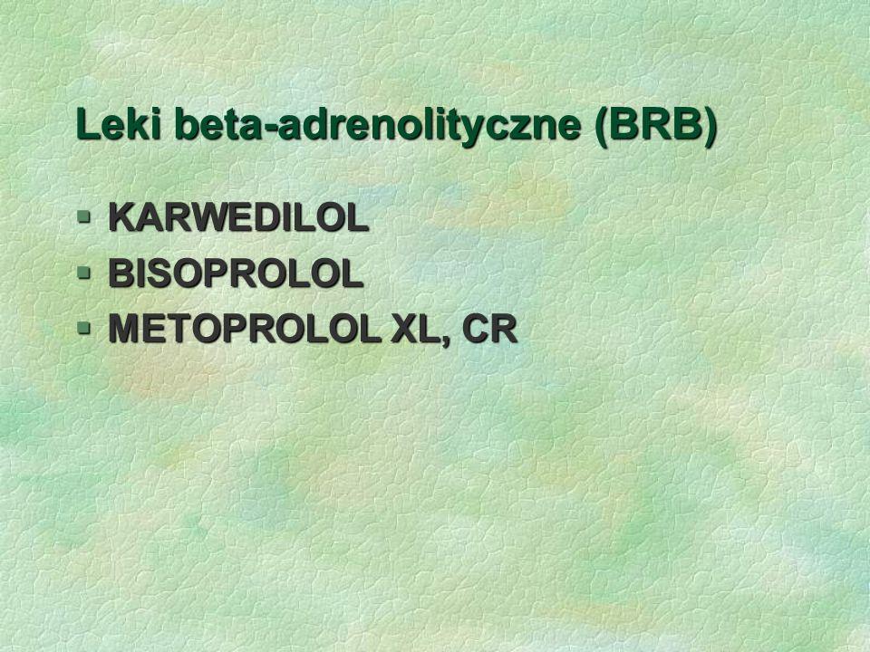Leki beta-adrenolityczne (BRB)