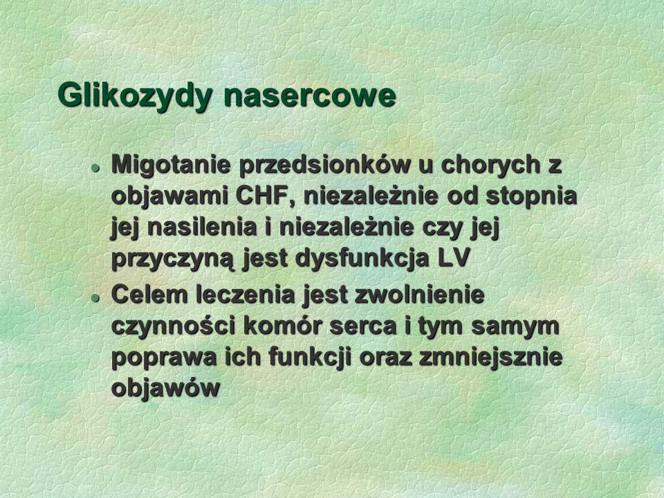 Glikozydy nasercowe