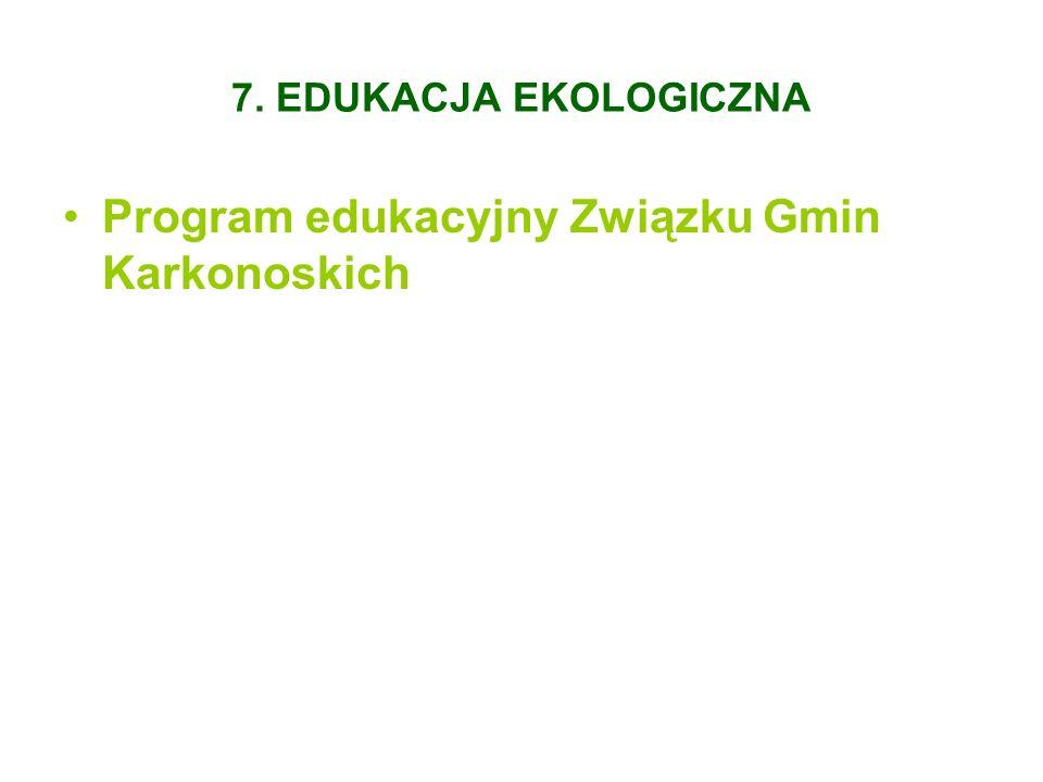 Program edukacyjny Związku Gmin Karkonoskich