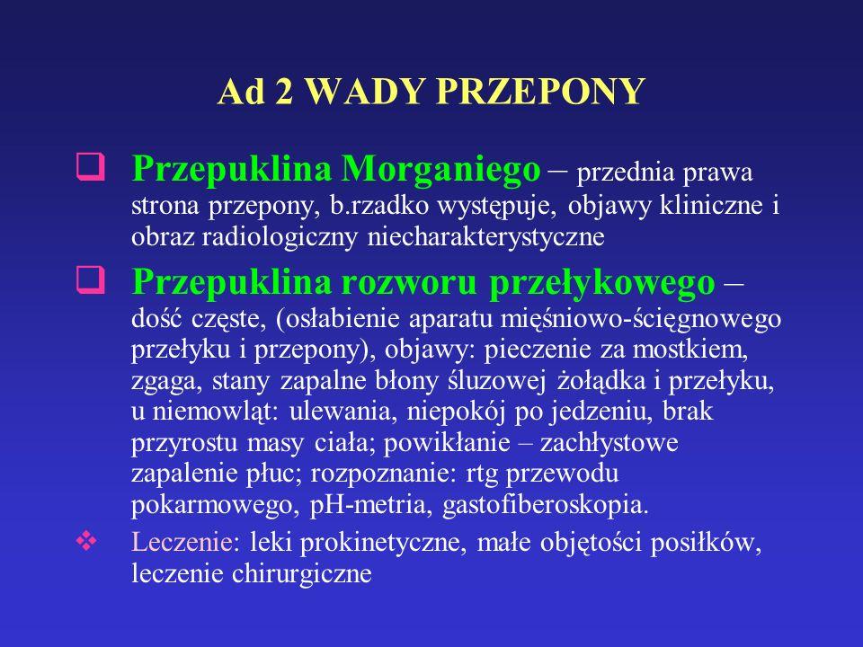 Ad 2 WADY PRZEPONY
