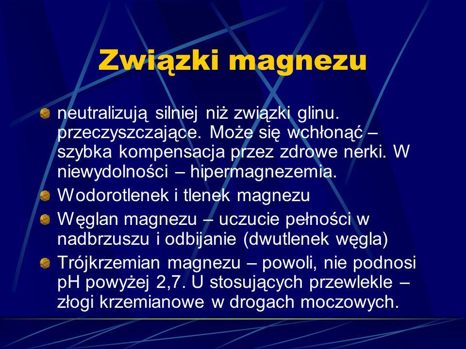 Związki magnezu