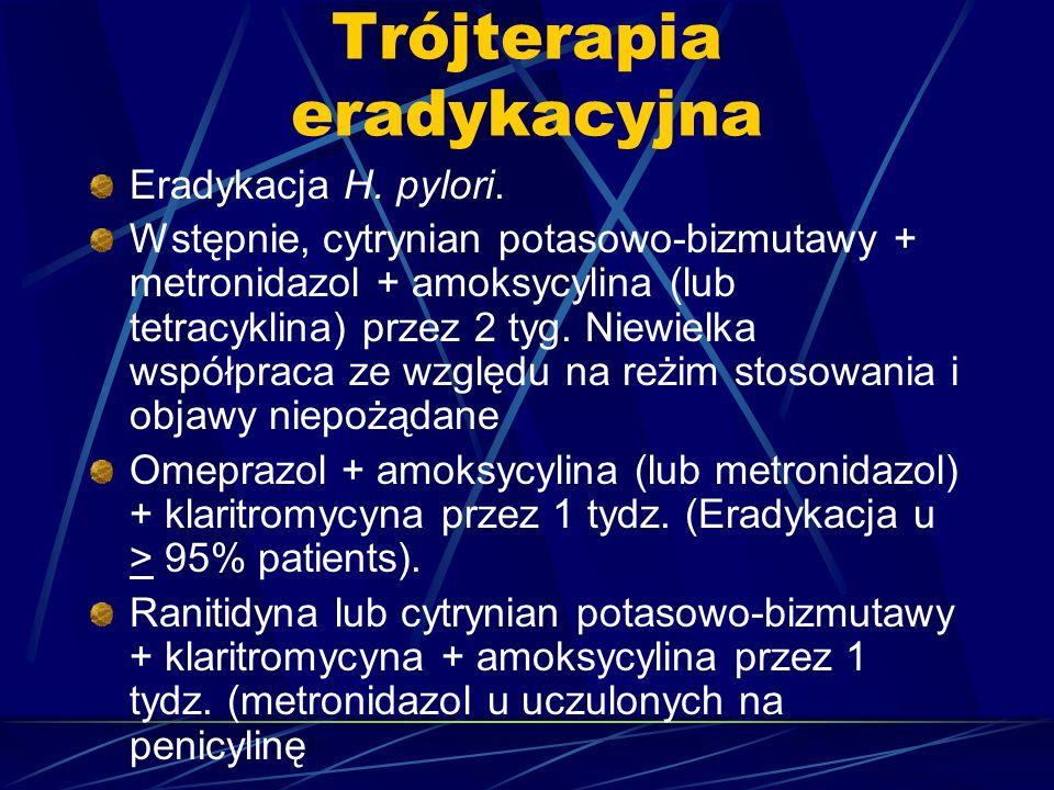 Trójterapia eradykacyjna