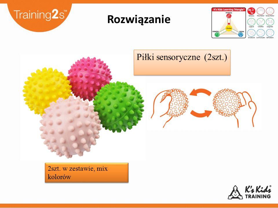 Piłki sensoryczne (2szt.)