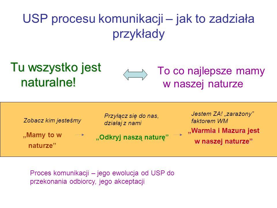 USP procesu komunikacji – jak to zadziała przykłady