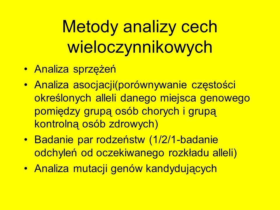 Metody analizy cech wieloczynnikowych
