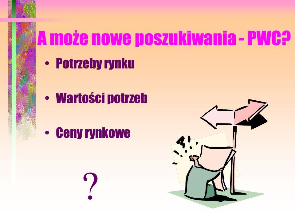 A może nowe poszukiwania - PWC