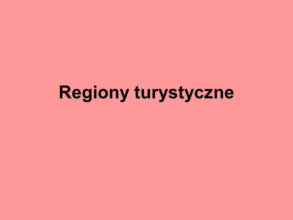 Regiony turystyczne