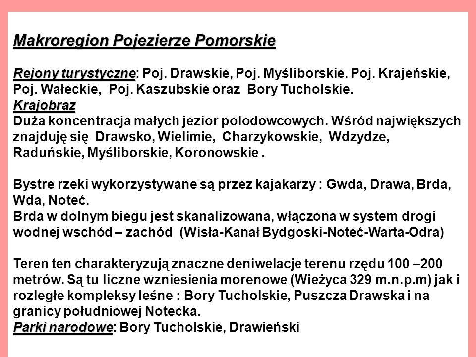 Makroregion Pojezierze Pomorskie
