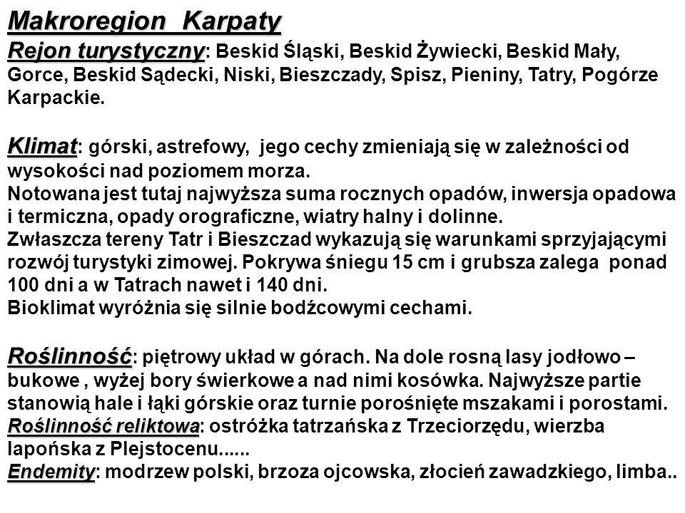 Makroregion Karpaty