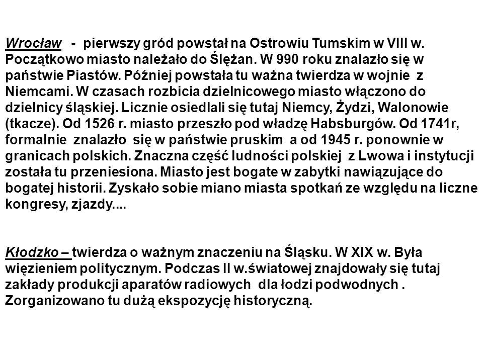 Wrocław - pierwszy gród powstał na Ostrowiu Tumskim w VIII w