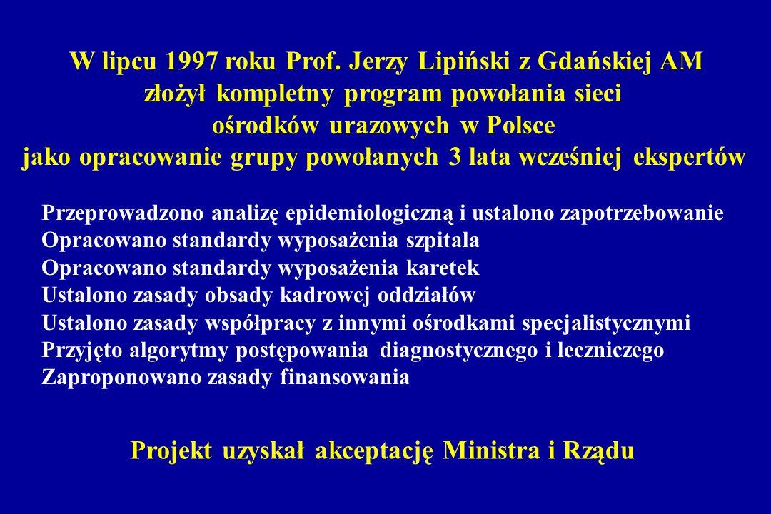 W lipcu 1997 roku Prof. Jerzy Lipiński z Gdańskiej AM
