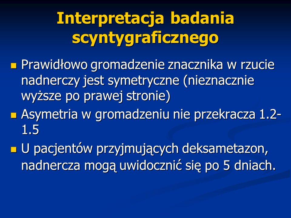 Interpretacja badania scyntygraficznego