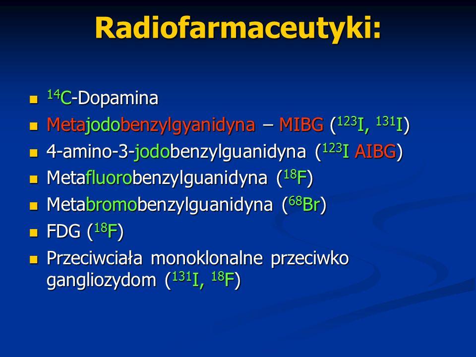 Radiofarmaceutyki: 14C-Dopamina