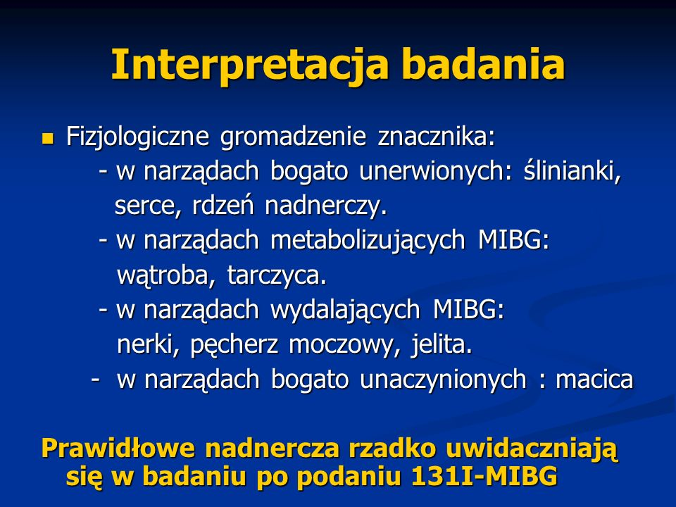 Interpretacja badania