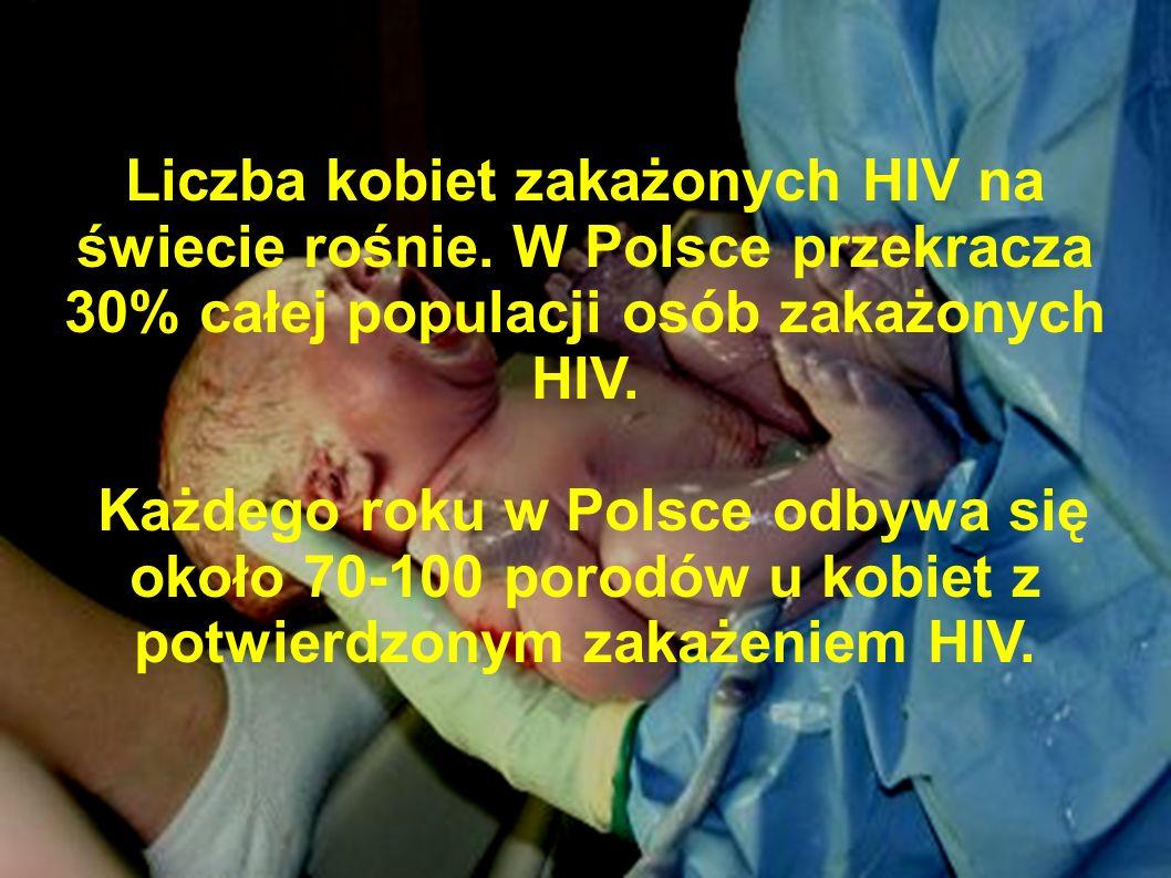 Liczba kobiet zakażonych HIV na świecie rośnie