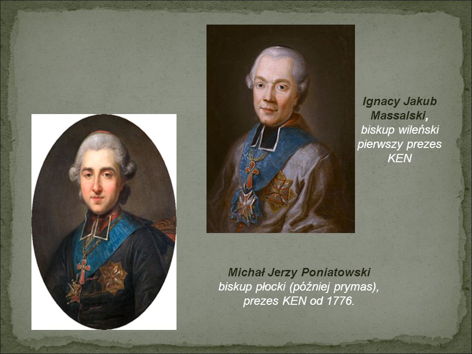 Ignacy Jakub Massalski, Michał Jerzy Poniatowski