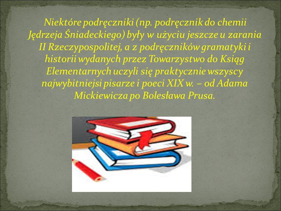 Niektóre podręczniki (np