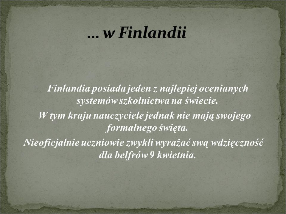 … w Finlandii