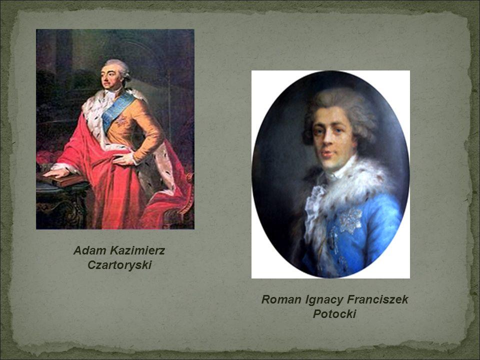 Adam Kazimierz Czartoryski Roman Ignacy Franciszek Potocki