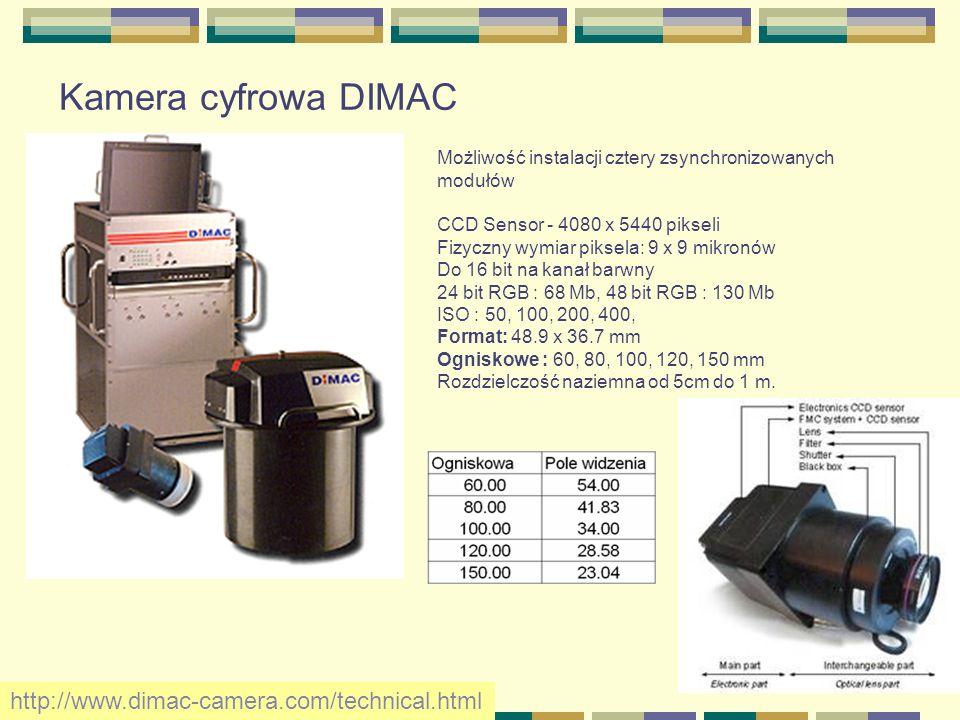 Kamera cyfrowa DIMAC http://www.dimac-camera.com/technical.html