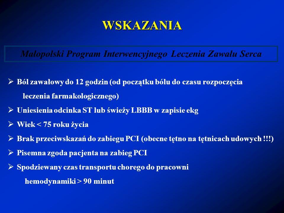Małopolski Program Interwencyjnego Leczenia Zawału Serca
