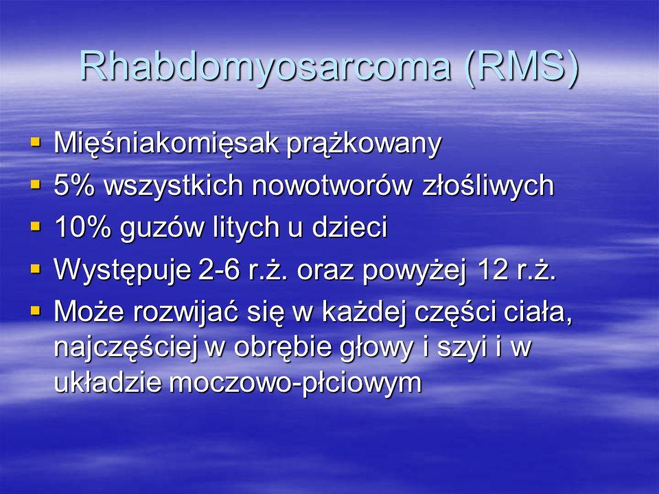 Rhabdomyosarcoma (RMS)