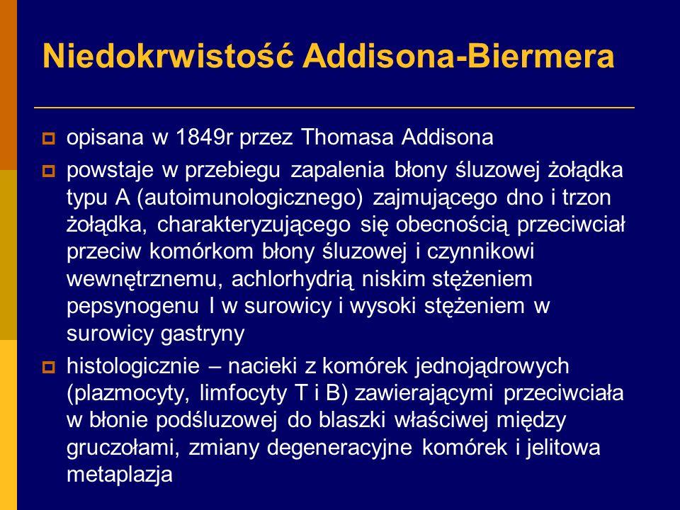 Niedokrwistość Addisona-Biermera