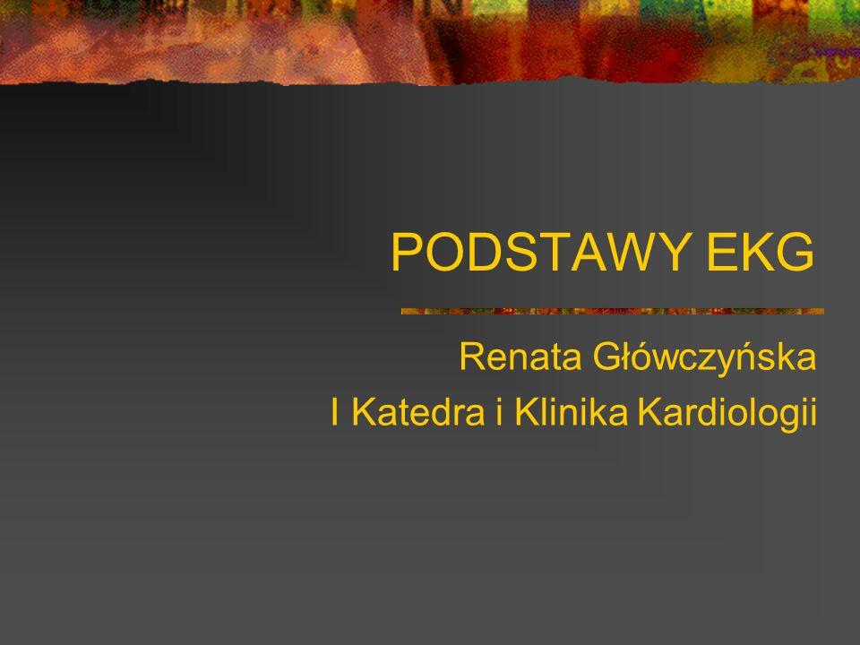 Renata Główczyńska I Katedra i Klinika Kardiologii