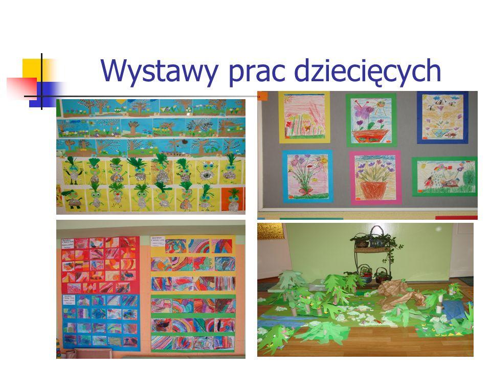 Wystawy prac dziecięcych