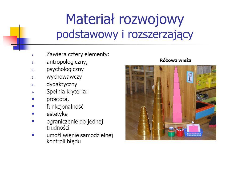 Materiał rozwojowy podstawowy i rozszerzający