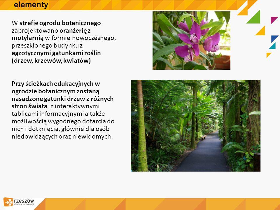 Ogród botaniczny -elementy