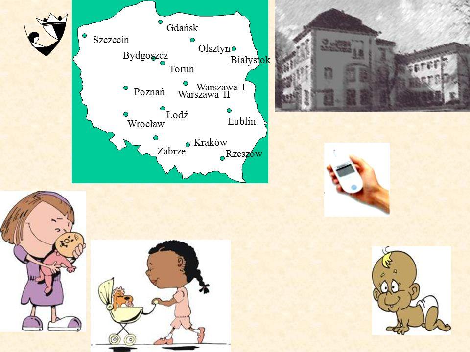 Gdańsk Olsztyn. Białystok. Szczecin. Poznań. Warszawa I. Bydgoszcz. Toruń. Warszawa II. Łodź.