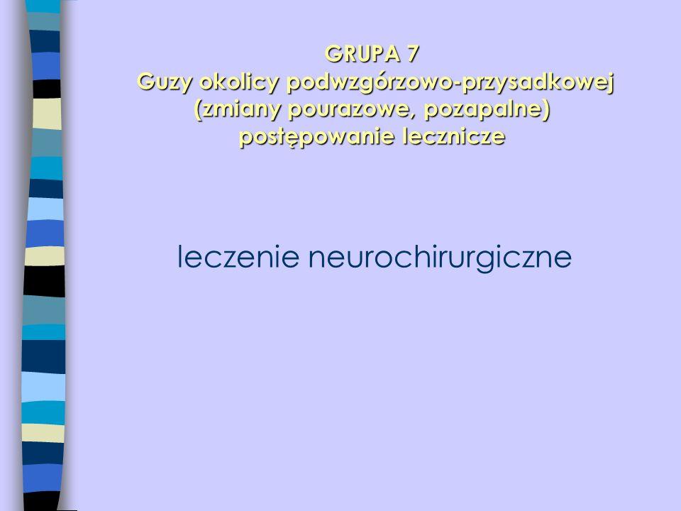 leczenie neurochirurgiczne