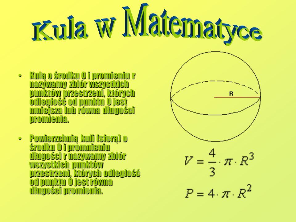 Kula w Matematyce