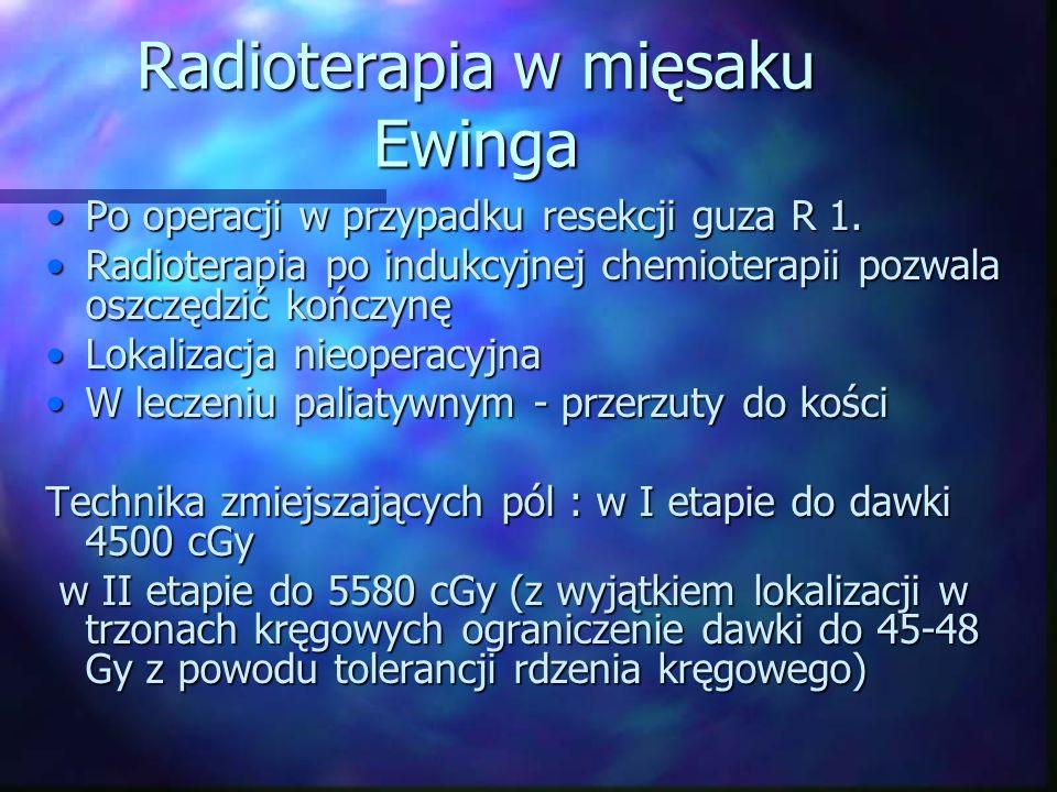 Radioterapia w mięsaku Ewinga