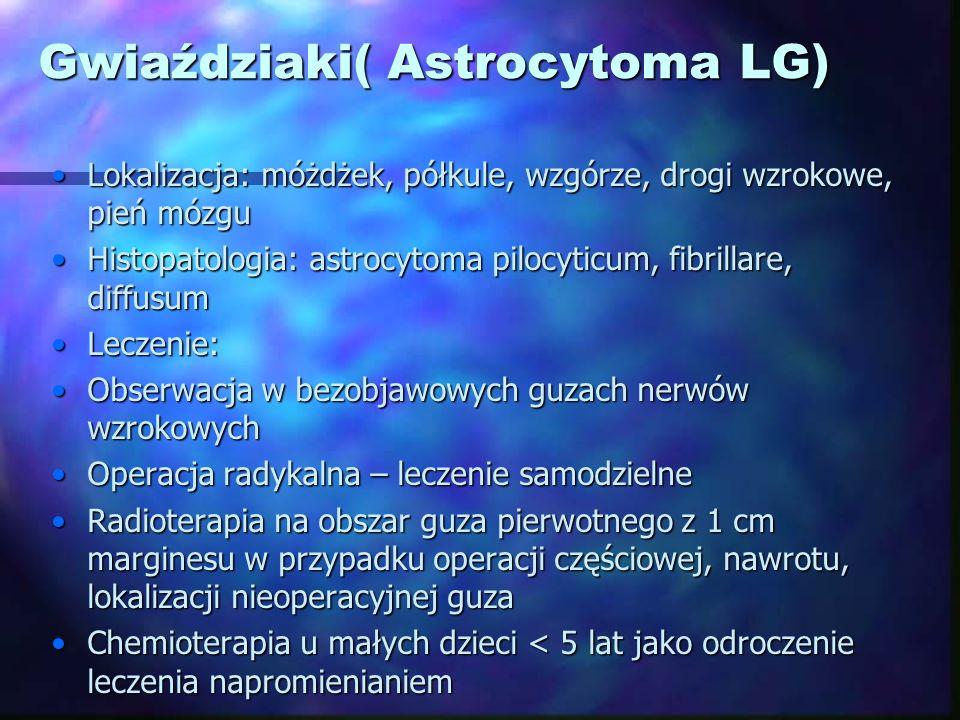 Gwiaździaki( Astrocytoma LG)