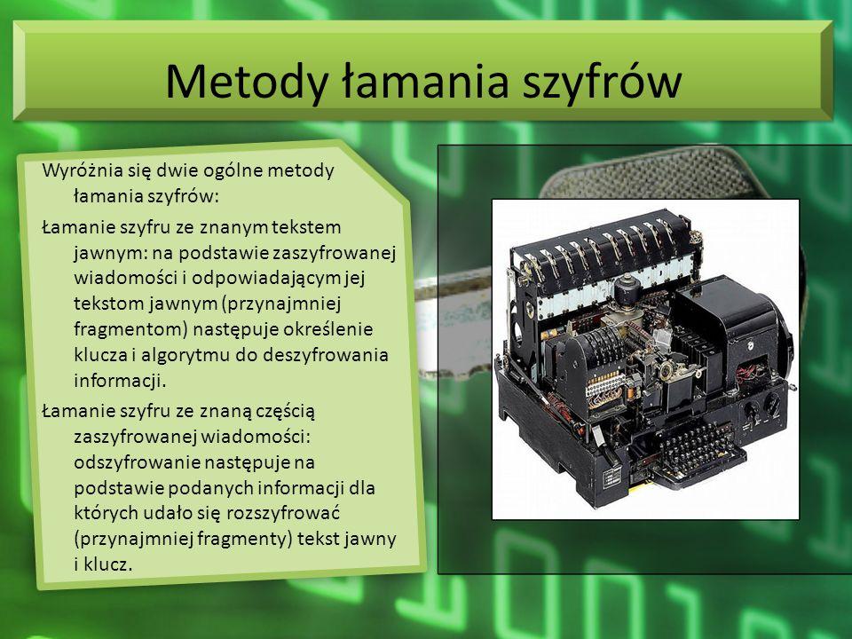 Metody łamania szyfrów