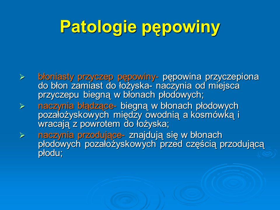 Patologie pępowiny