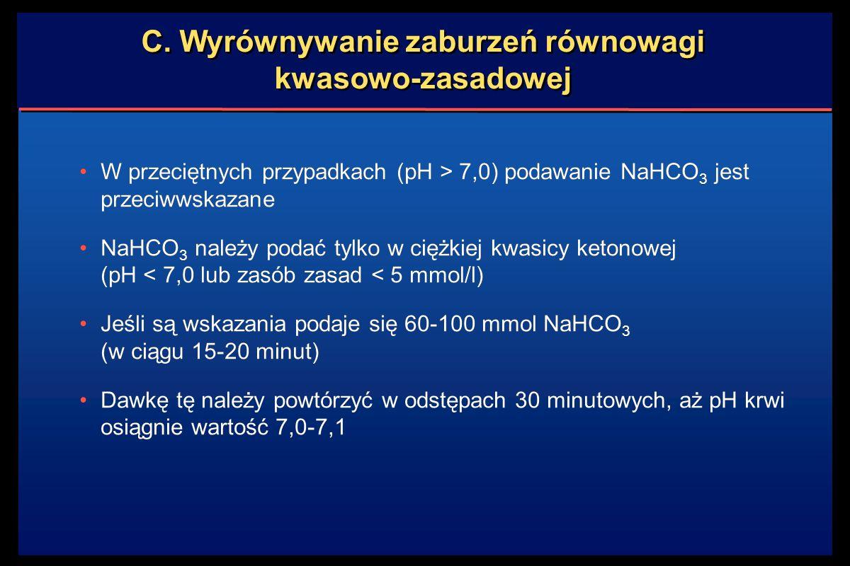 C. Wyrównywanie zaburzeń równowagi kwasowo-zasadowej