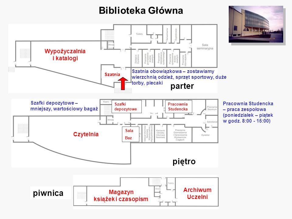 Wypożyczalnia i katalogi Magazyn książek i czasopism