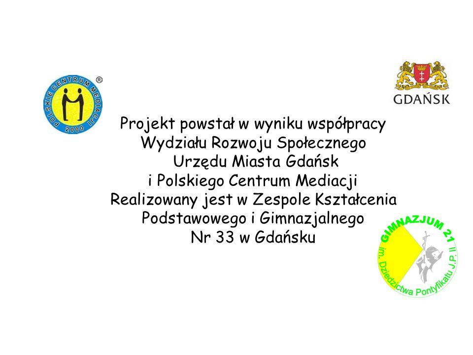 Projekt powstał w wyniku współpracy Wydziału Rozwoju Społecznego