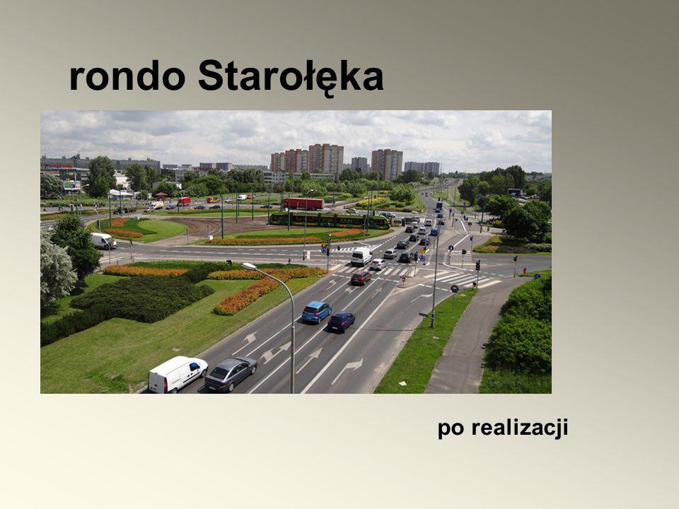 rondo Starołęka po realizacji