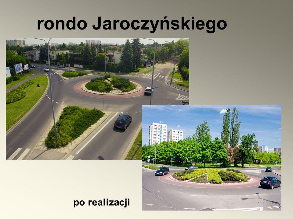 rondo Jaroczyńskiego po realizacji
