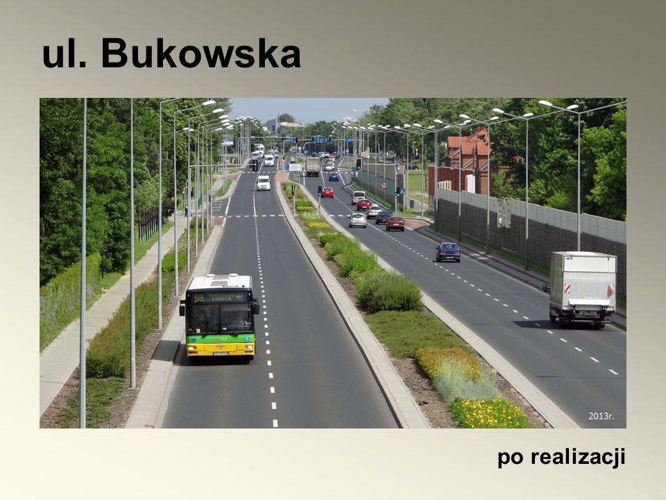 ul. Bukowska po realizacji