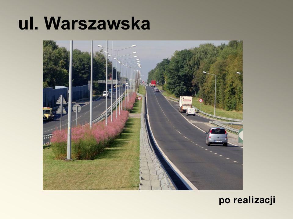 ul. Warszawska po realizacji