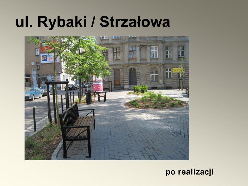 ul. Rybaki / Strzałowa po realizacji
