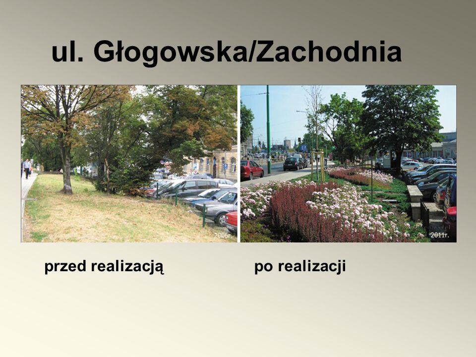 ul. Głogowska/Zachodnia